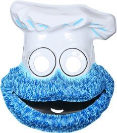 Economy Cookie Monster Child Sesame Street PVC Mask
