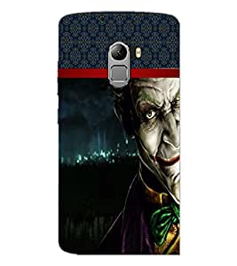 PrintDhaba Scary Image D-3995 Back Case Cover for LENOVO K4 NOTE A7010a48 (Multi-Coloured)