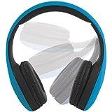 EE0999BLU Intempo Folding Over Ear Headphones - Blue