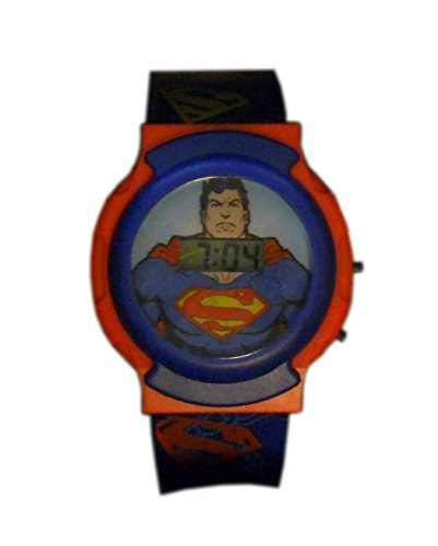 Superman Flashing Lights LCD Watch - 1