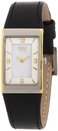 Boccia Ladies Titanium Leather Strap Watch B3186-03