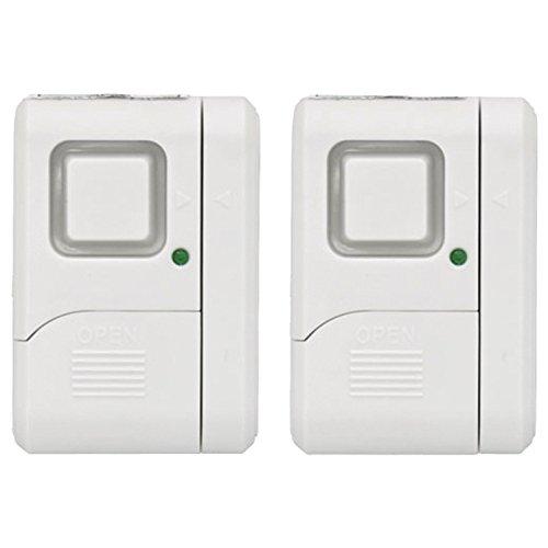 GE Personal Security Window/Door Alarm (2 pack), 45115 (Battery Door Chime compare prices)