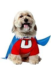 Underdog Doggy Costume, Medium (Red/Blue)