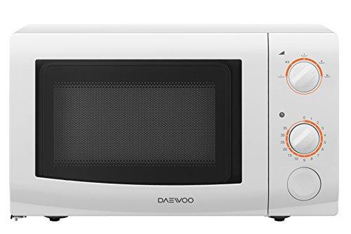 Daewoo KOR6L37 Microondas 700 W, 20 L, Color Blanco