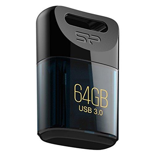 SP シリコンパワー超小型 USB3.0 Jewel J06シリーズ 64GB 防水防塵耐衝撃 Mac対応永久保証 USBメモリ SP064GBUF3J06V1D