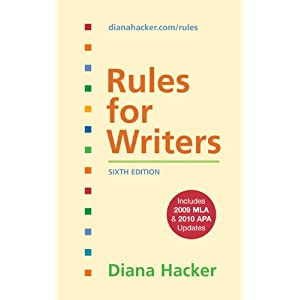 Rules for Writers: Sixth Edition
