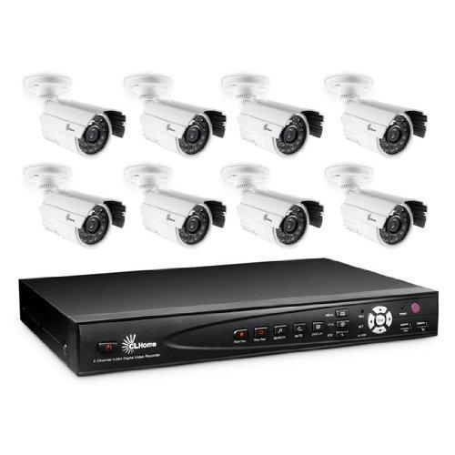Überwachungskamera Set CM-UEKRS8 Video Überwachungssystem mit 8 Kameras und DVR zur Aufzeichnung