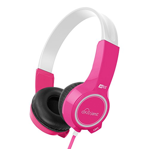 MEE audio KidJamz KJ25 Safe Listening Headphones for Kids with Volume-Limiting Technology (Pink)