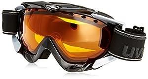 Uvex Apache Ski Google - Black, Size 1
