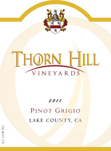 2011 Thorn Hill Vineyards Pinot Grigio 750 Ml