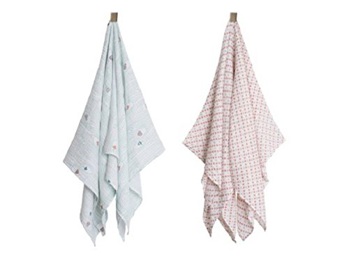 Bebe Au Lait Muslin Swaddle Blankets - Little Owl + Tinsley