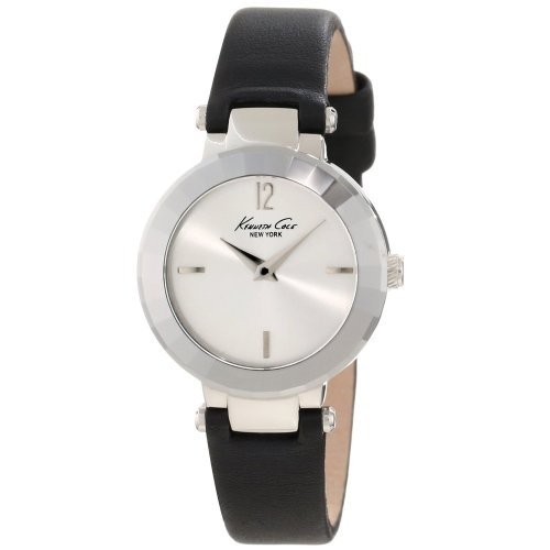 Kenneth Cole New York Women's KC2673 Classic Polished Faceted Bezel Watch