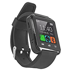 Micomy Bluetooth U8 Smart Watch With Speaker and Notifications Support -Black