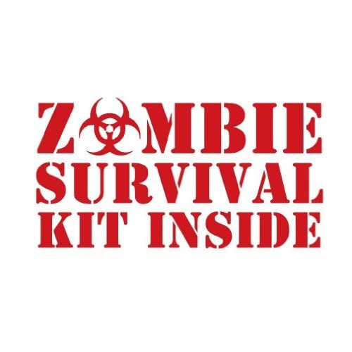 Zombie Survival Kit Printables for Candy | just b.CAUSE