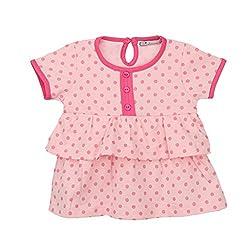 EIMOIE Baby Girls short sleeves Dress