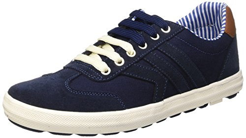 Lumberjack Wolf Scarpe Low-Top, Uomo, Blu (Cc001 Navy Blue), 41