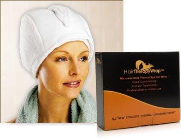 Thermal Spa Hair Wrap - White
