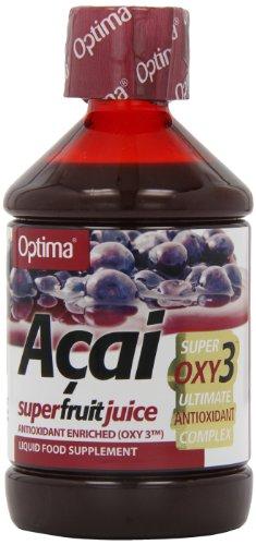 Optima Naturals Succo Acai con Oxy 3 - 1 Flacone x 500 ml