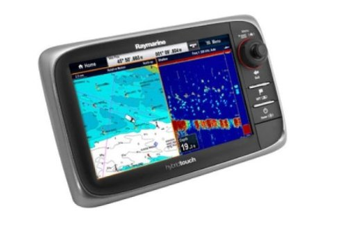 Raymarine-E62355-E-Serie-E7D-Hybrid-Touch-Multifunktionsdisplay-Fischfinder-ohne-Karte-178-cm-7-Zoll