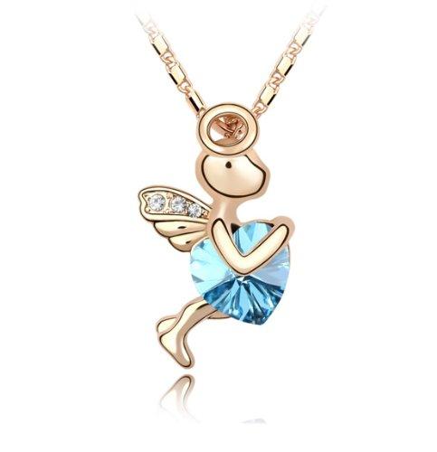 Boxingcat Fine Jewelry Swarovski Style Clear Austrian Crystal Pendant Necklaces Bgca2364 front-985943