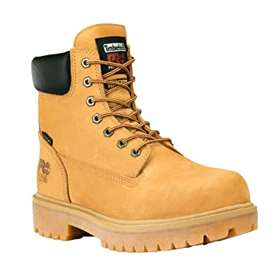 """Timberland PRO 65016 Mens Direct Attach 6"""" Steel Toe Boot (Wheat, 7 M US)"""