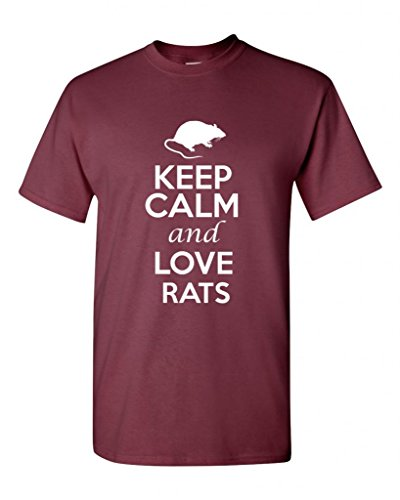 keep-calm-and-love-rats-rodents-novelty-statement-unisex-adult-t-shirt-tee-xxx-large-maroon