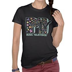 MTV: Stars Pastel Tee - Girls