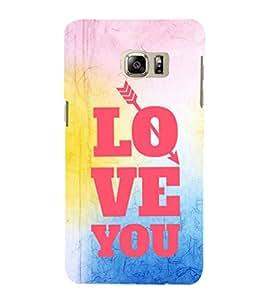 EPICCASE love you Mobile Back Case Cover For Samsung Galaxy Note 5 Edge (Designer Case)