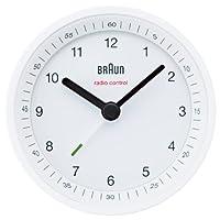 BRAUN Radio Controlled Alarm Clock BNC007WHWH