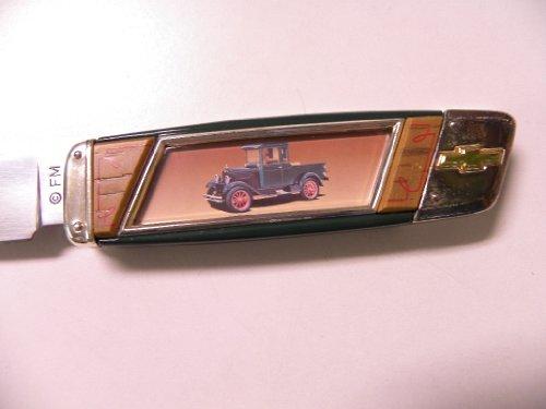 Franklin Mint 1928 Chevy Light Duty Pocket Knife B11Xp91