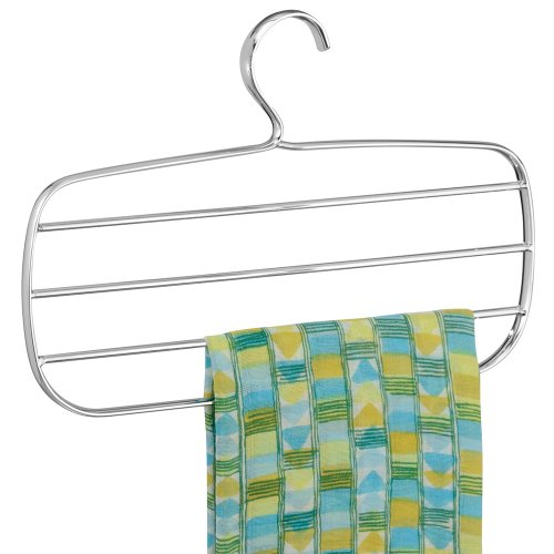 InterDesign Horizontal Scarf Holder interdesign daizy shower curtain