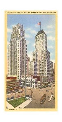 Skyscrapers in Newark, New Jersey