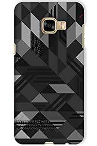 IndiaRangDe Hard Back Cover FOR Samsung Galaxy C5