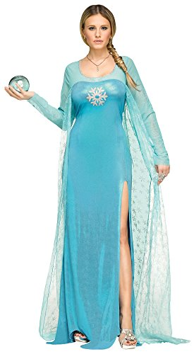 Fun World Plus Size Ice Queen Costume 1X 16W/20W