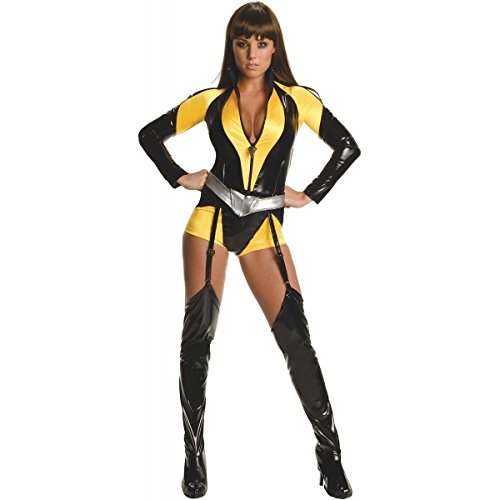 [GSG Silk Spectre Costume Adult The Watchmen Hero Halloween Fancy Dress] (The Watchmen Silk Spectre Costume)