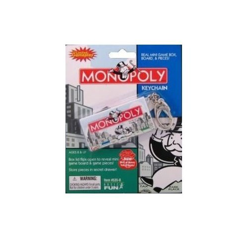 Hasbro Monopoly Game Keychain by Basic Fun kaufen