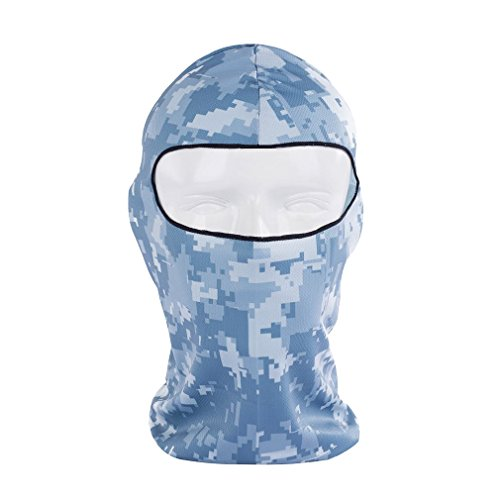 Rioriva Windproof Fleece Balaclava Outdoor Sports Camping Hiking Skiing Cycling Face Mask,One Size,BB-16