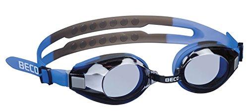 Beco Arica Mehrfarbige Universal-Schwimmbrille mit Sicherem Halt durch Breites Geteiltes Kopfband