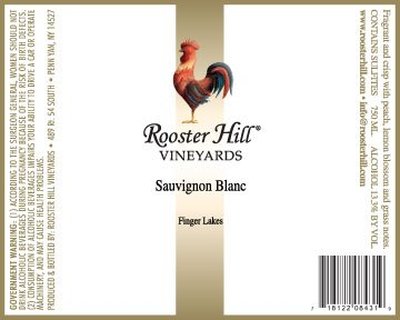 2013 Rooster Hill Vineyards Sauvignon Blanc 750 Ml