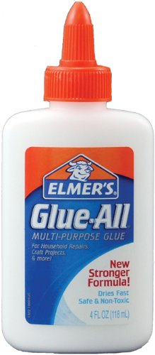 Elmer's Glue-All Multi-Purpose Glue, 4 Ounces, White (E1322)
