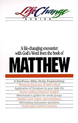 Matthew, LifeChange Series