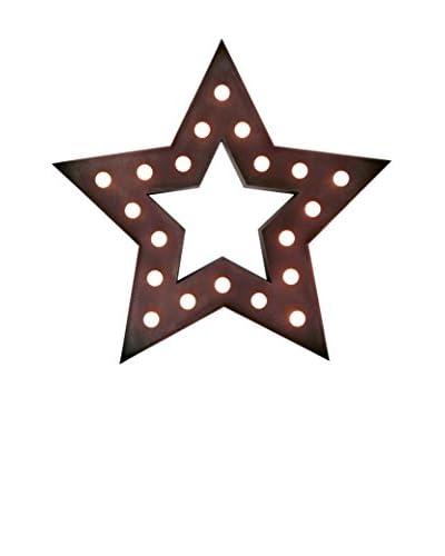 LO+DEMODA Decoración Pared LED Star