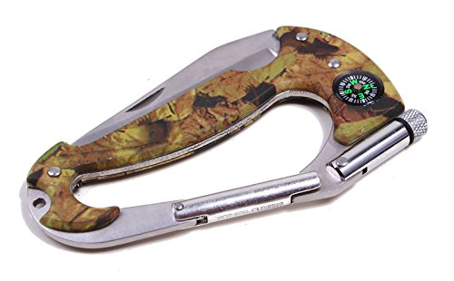 AMC Camouflage Stainless Steel Mini Multi Tool with Pocket Knife for Mountain