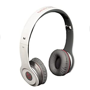 Beats by Dr. Dre Solo White On-Ear Headphones with ControlTalk $126