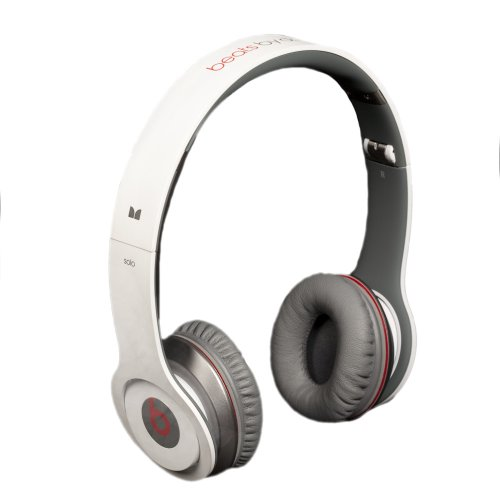 Beats by Dr. Dre Solo White On-Ear Headphones with ControlTalk