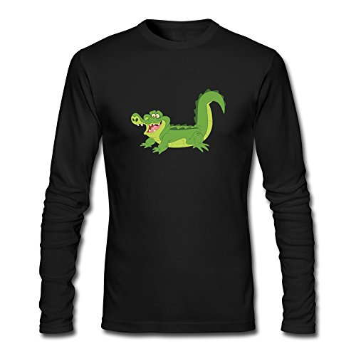 Crocodile Jake And The Neverland Pirates T-Shirts Black For Men's (Peter Pan Pillow Pet compare prices)