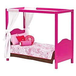 Our Generation My Sweet Canopy Bed for 18