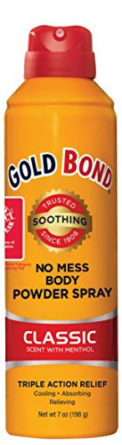 Gold Bond No Mess Spray Powder Classic, 7 Ounce (Spray Baby Powder compare prices)
