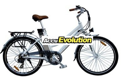 AccuEvolution Electric Bicycle CitySmart 350CF