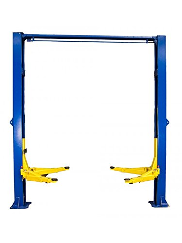 Review TRIUMPH NTO-10A 10000Lbs Two Post Clear Floor Lift